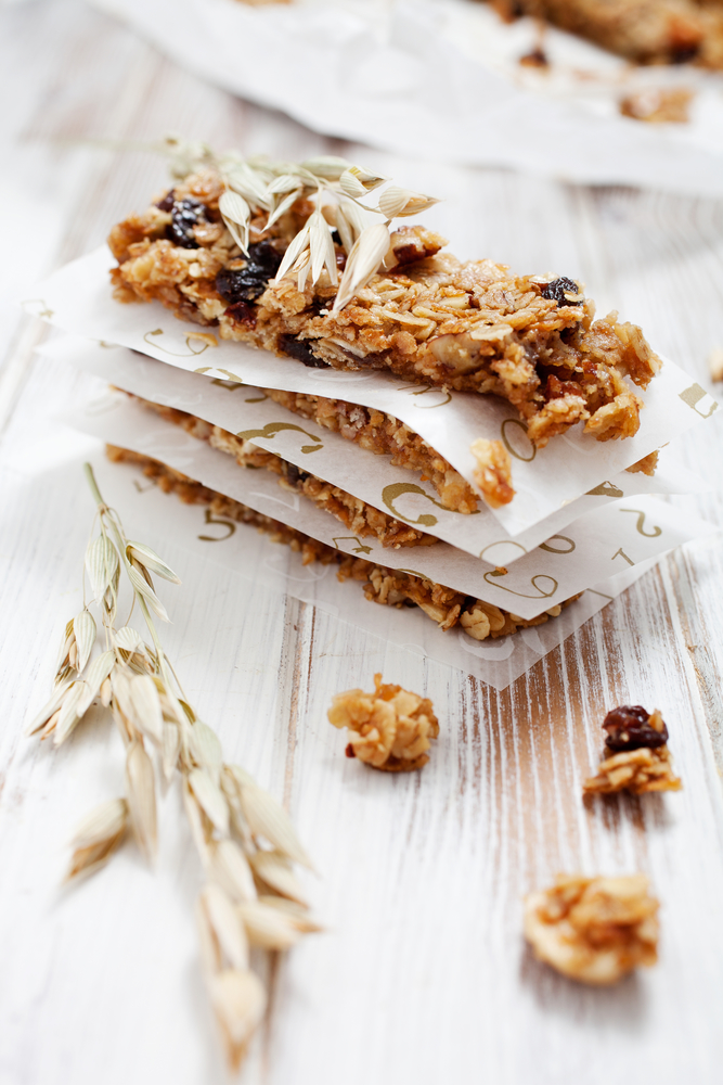 Pumpkin Seed Homemade granola bars