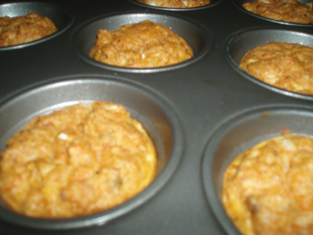 Baked Salmon Cakes Muffin Tin