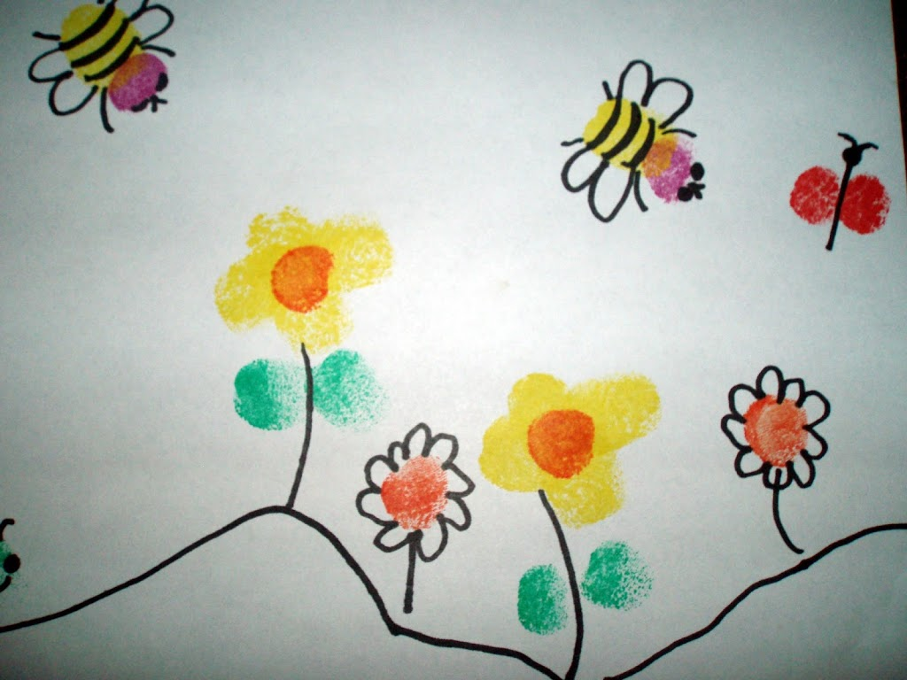 Fingerprint Painting Projects For Kids