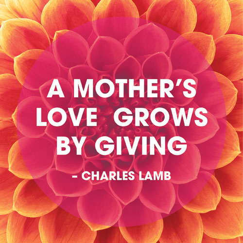 Honor Your Mother By Changing A Life #MothersDay #BeTheChange ...
