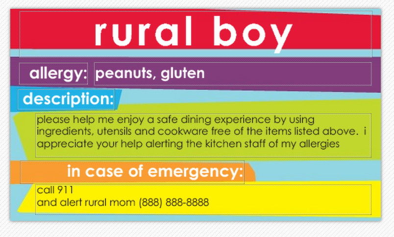Stay Organized and Address Food Allergies with Tiny Prints School Supplies Rural Mom