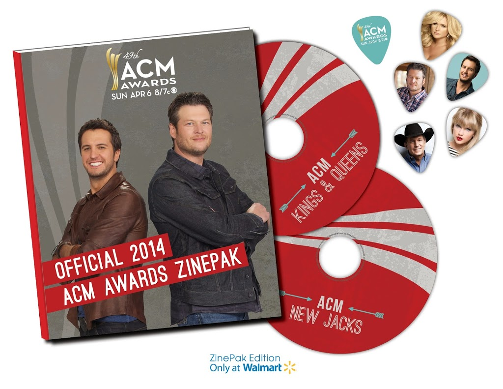 Academy of Country Music Awards ZinePak #Giveaway #ACM #music