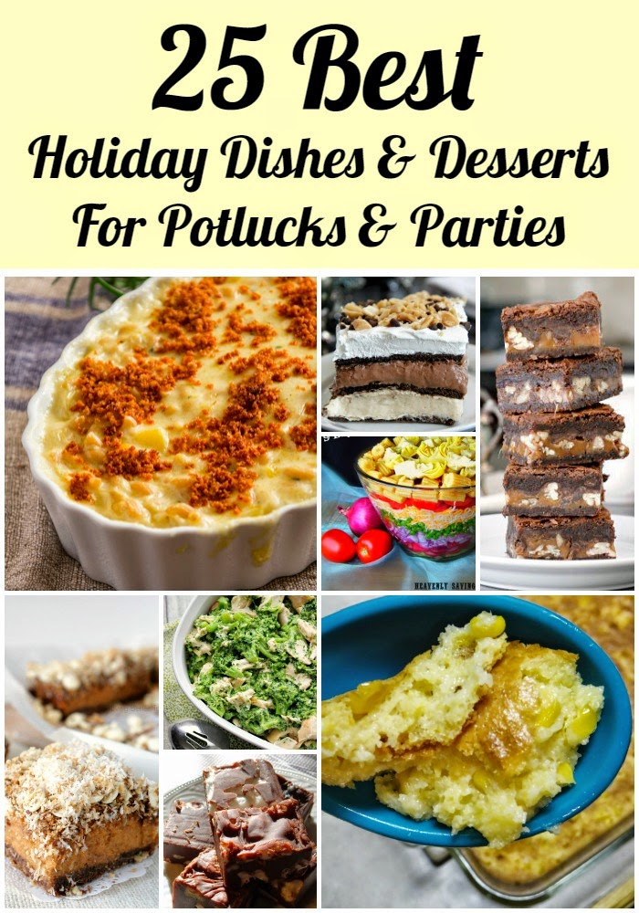 Potluck Ideas For Christmas Parties Part - 37: 25 Of The Best Holiday #Recipe Ideas For Potlucks And Parties