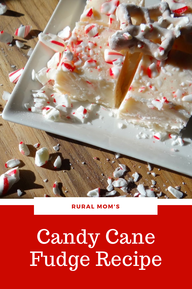 Holiday Baking: Candy Cane Fudge Recipe