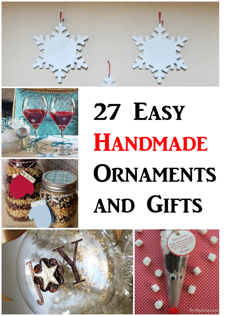 27 Easy Handmade Ornaments and Gifts | Last-Minute Gift Ideas! Rural Mom