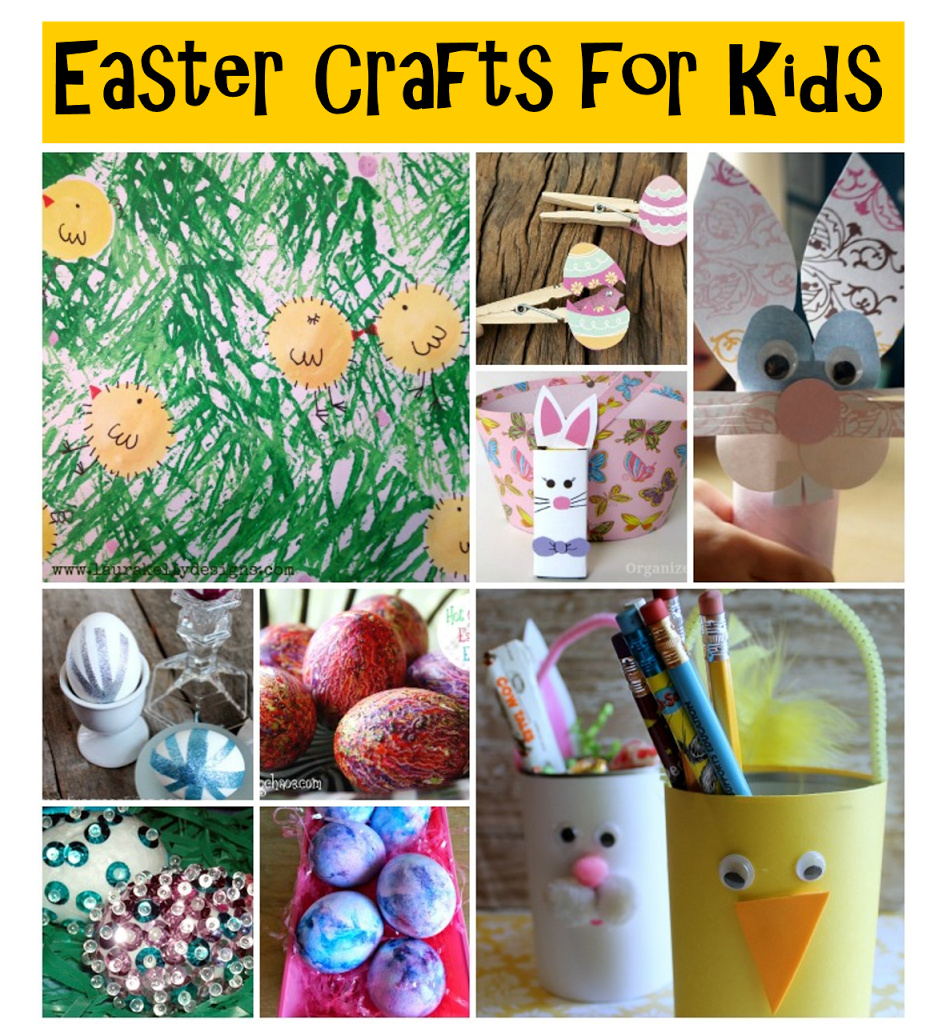 25 Quick and Easy Easter Crafts for Kids