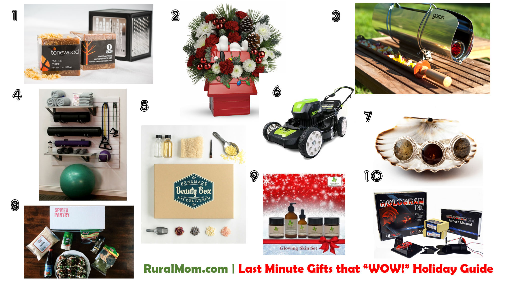 """Top 10 Last Minute Gifts that """"WOW!"""" 