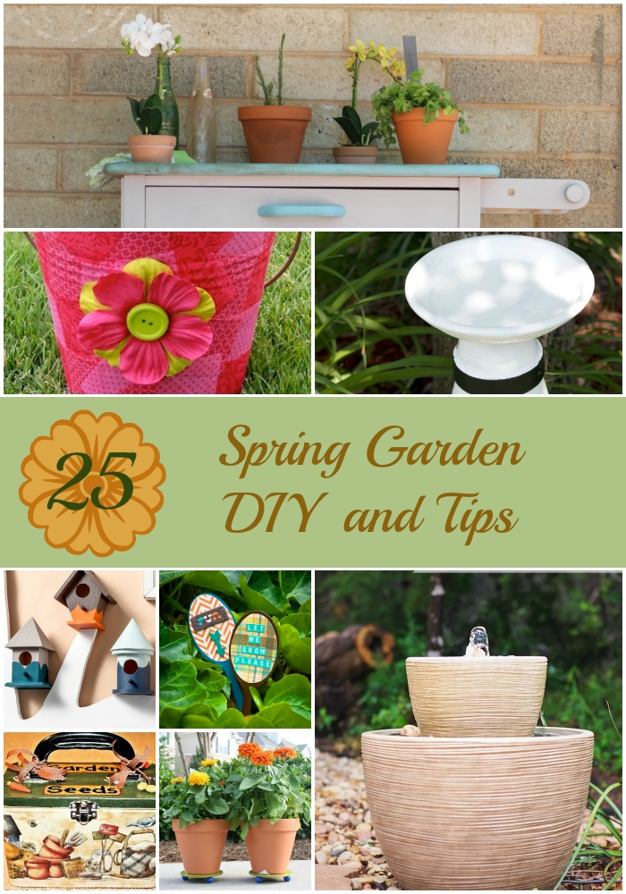 Charmant 25 Beautiful Budget Friendly Spring Garden DIY Projects And Tips