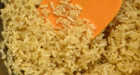 Quick and Easy Oregano Buttered Brown Rice