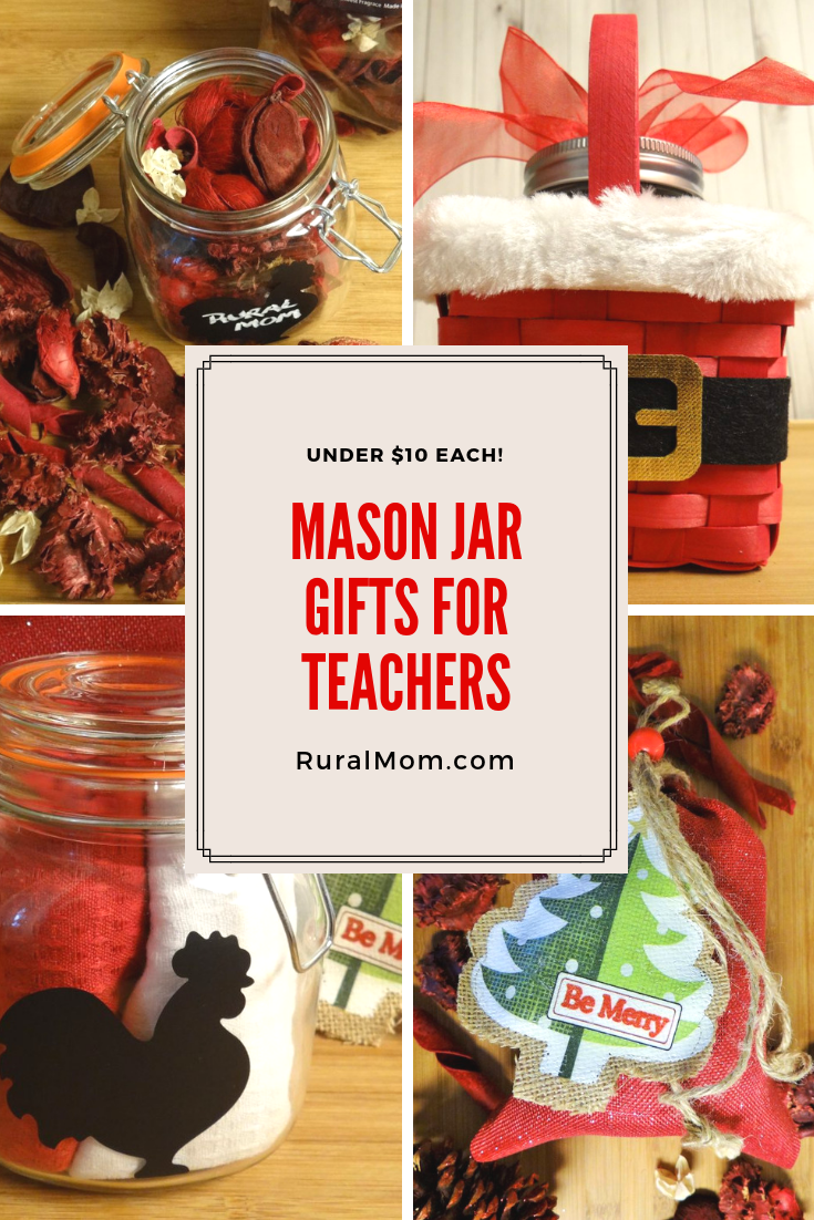 Clever Mason Jar Gift Ideas for Teachers