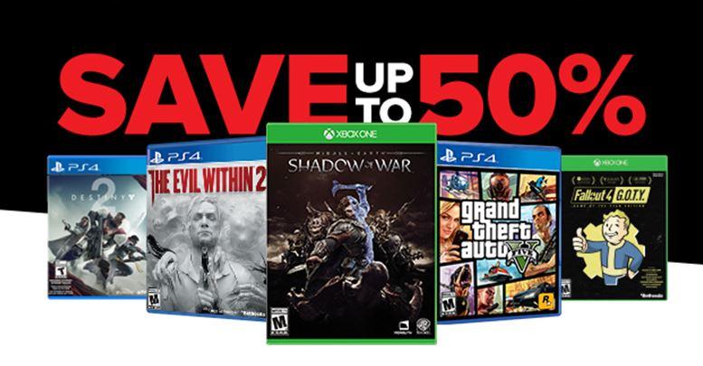 Crazy-Good Deals at GameStop PRO DAYS Sale