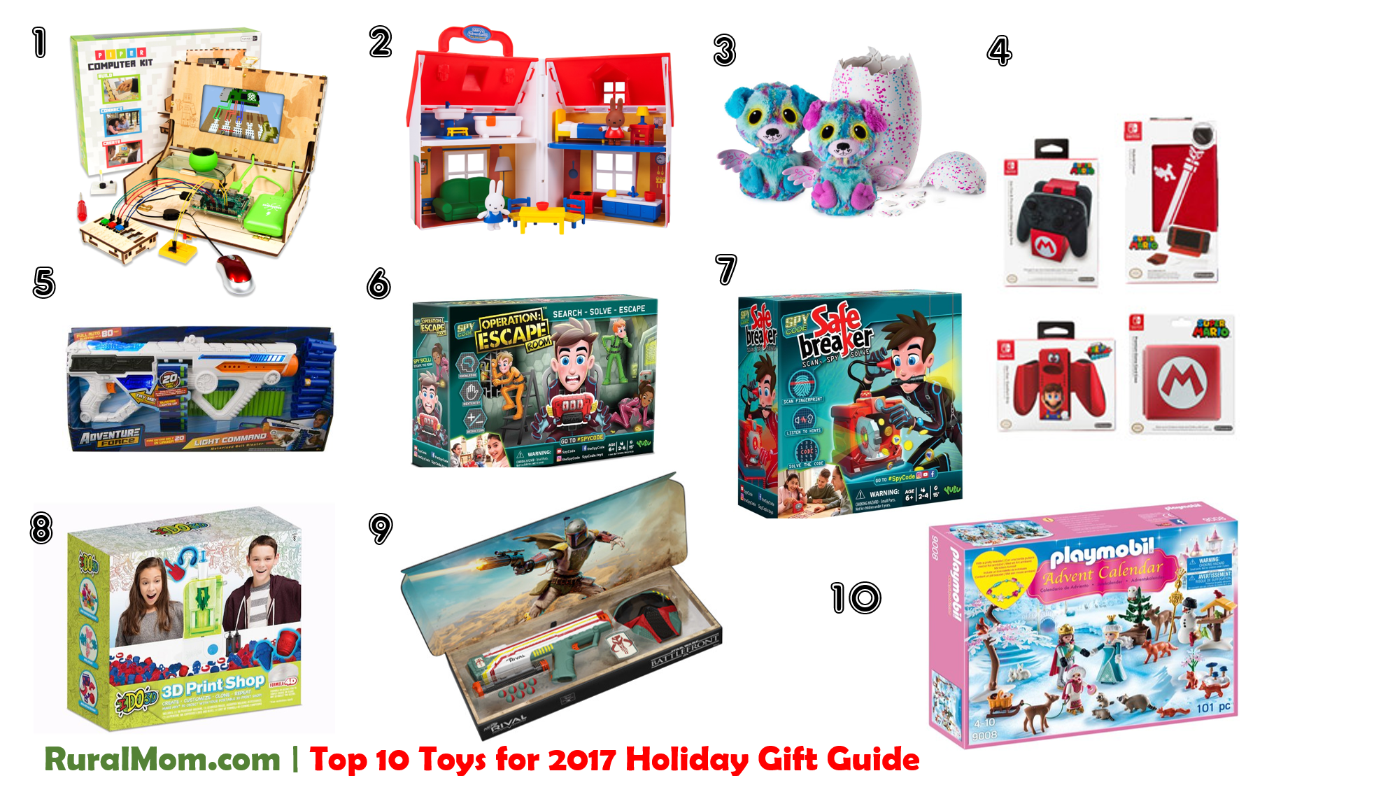 Rural Mom Top 10 Toys for 2017 Holiday Gift Guide Rural Mom