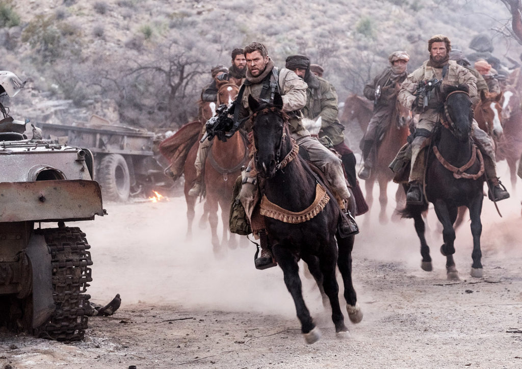 12 STRONG Exclusive Interview with Chris Hemsworth