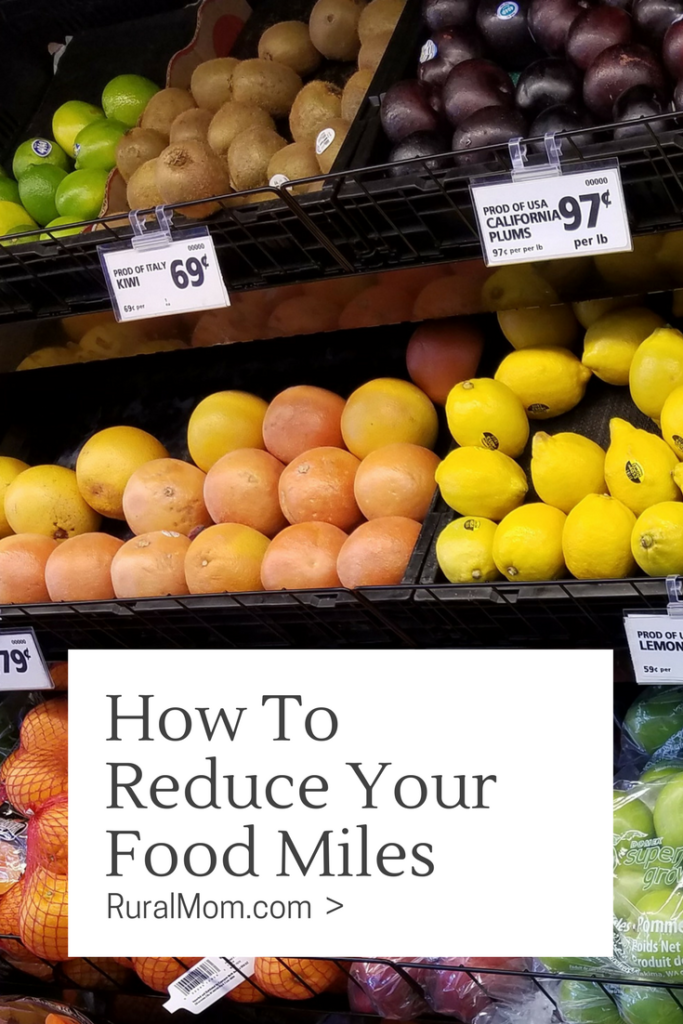 Do You Know How To Reduce Your Food Miles?