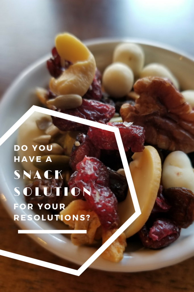 Do you have a snack solution for your resolutions?