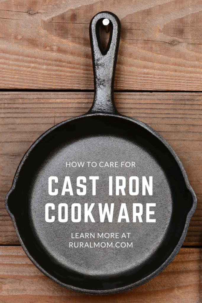 How To Care For Your Cast Iron Cookware