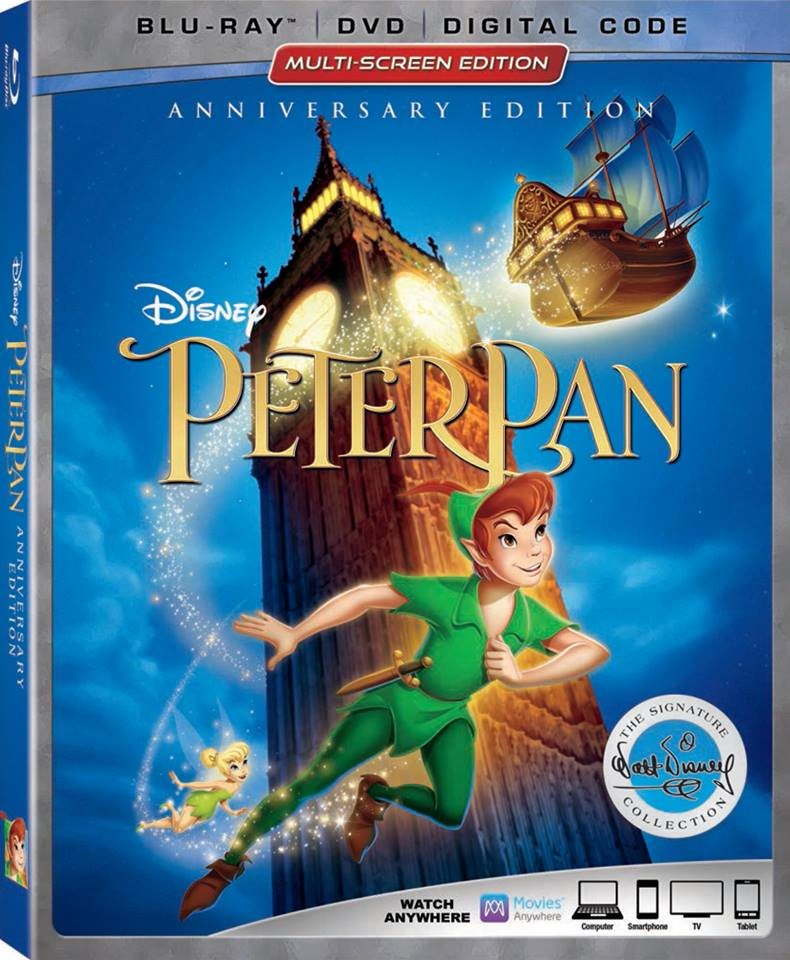 Disney Peter Pan Anniversary Edition