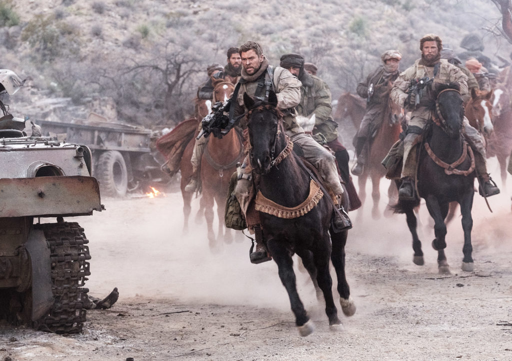 Movie Night Giveaway: 12 STRONG and 15:17 TO PARIS