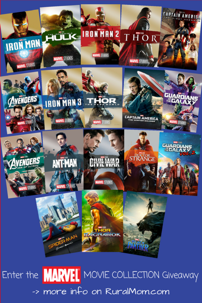 Suit Up for AVENGERS: INFINITY WAR - Ultimate Marvel Movie Collection Giveaway!