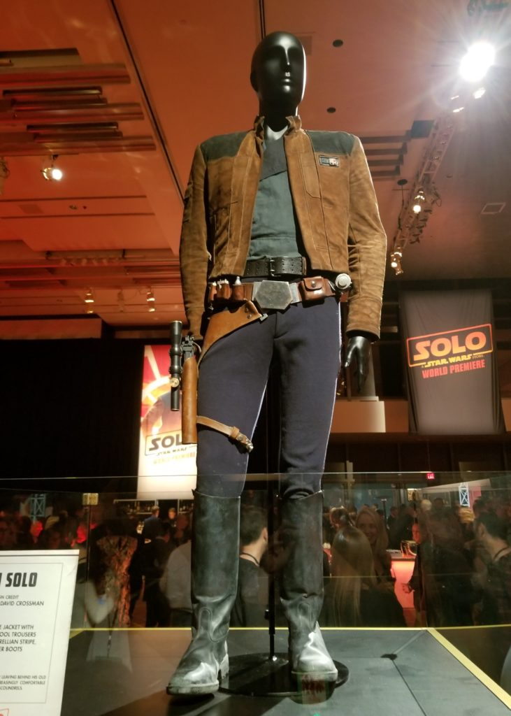 SOLO: A STAR WARS STORY premiere #HanSoloEvent