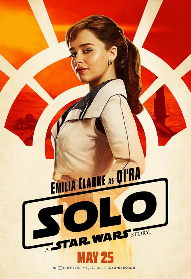 SOLO: A STAR WARS STORY Exclusive Interview with Emilia Clarke