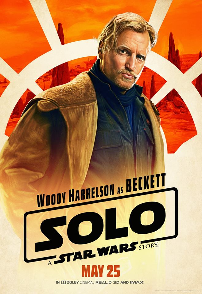 SOLO: A STAR WARS STORY Exclusive Interview with Woody Harrelson
