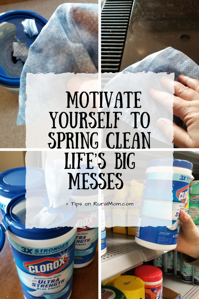 How To Motivate Yourself to Spring Clean Life's Big Messes
