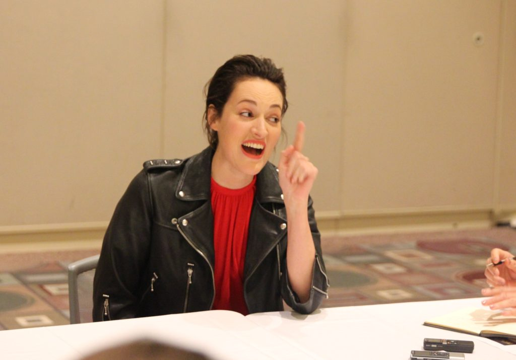 SOLO: A STAR WARS STORY Exclusive Interview with Phoebe Waller-Bridge (L3-37)