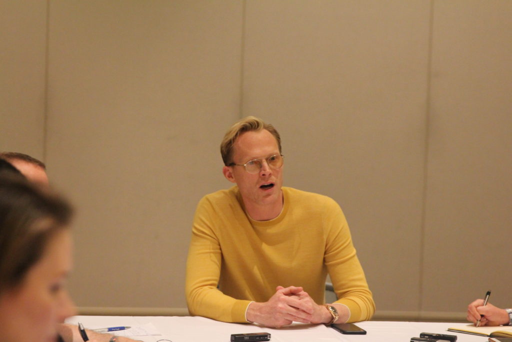 SOLO: A STAR WARS STORY Exclusive Interview with Paul Bettany