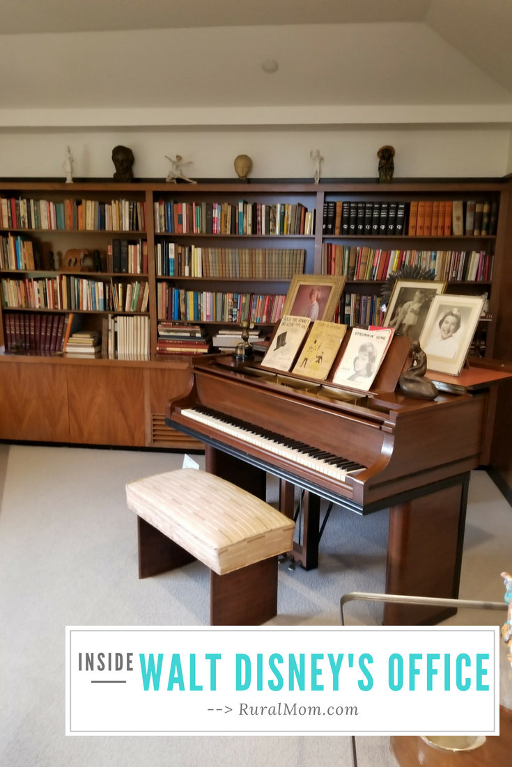 Step Inside Walt Disney's Office