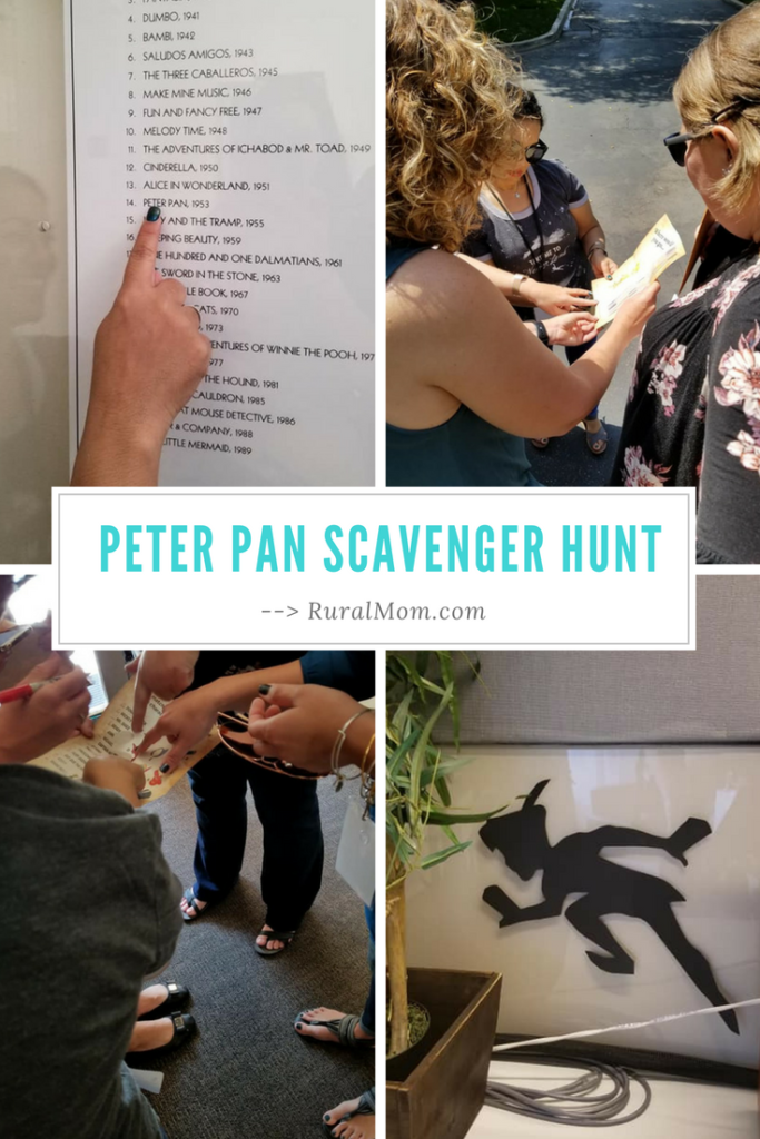 Peter Pan Scavenger Hunt at Walt Disney Studios