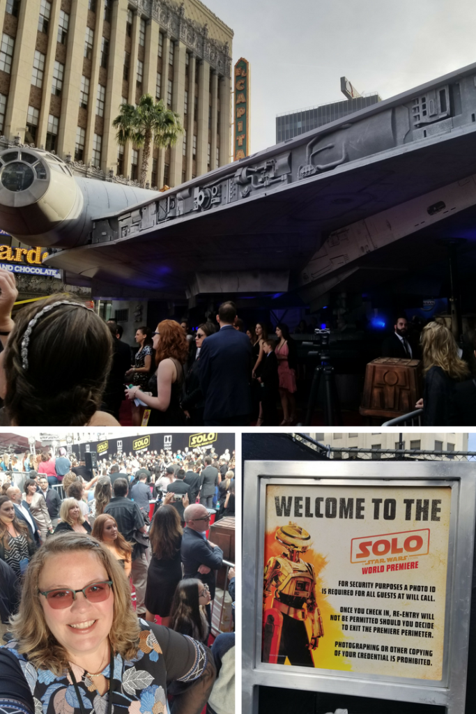 SOLO: A STAR WARS STORY - My first reactions and experience at the premiere #HanSoloEvent