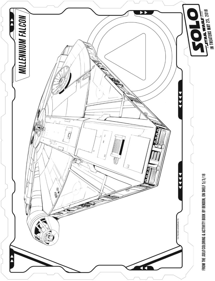 SOLO: A STAR WARS STORY Coloring Pages and Activity Sheets ...