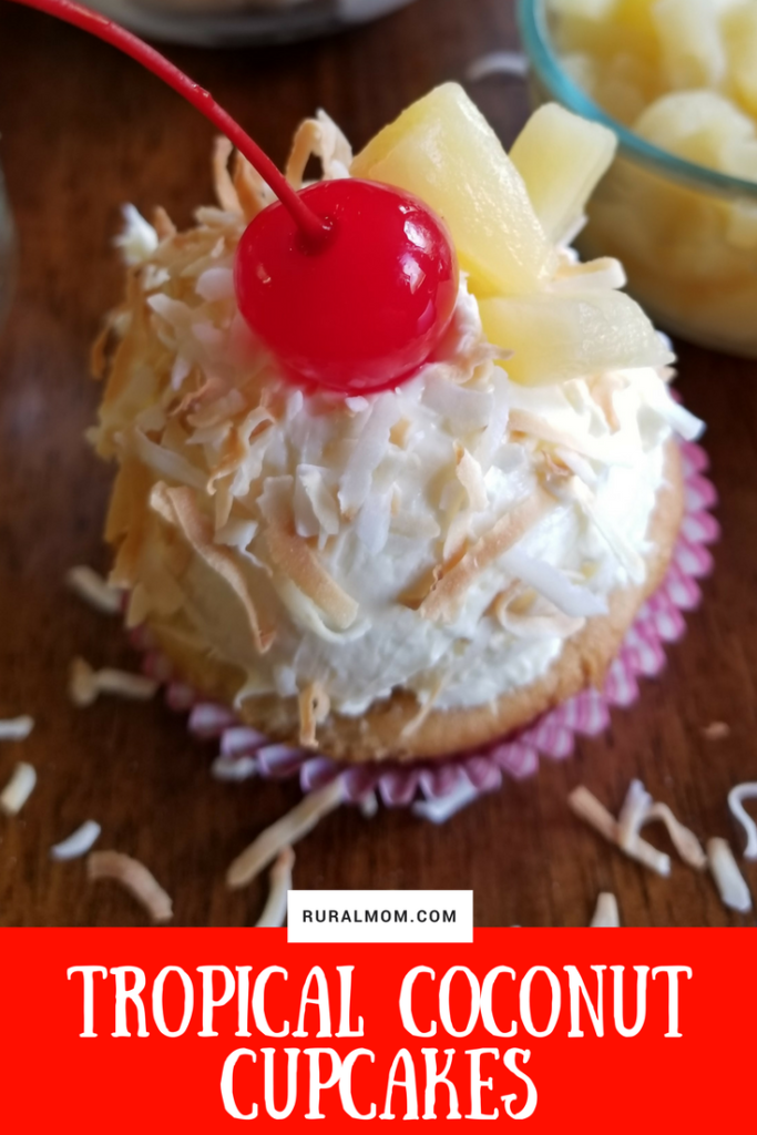 Quick and Delicious Tropical Coconut Cupcakes