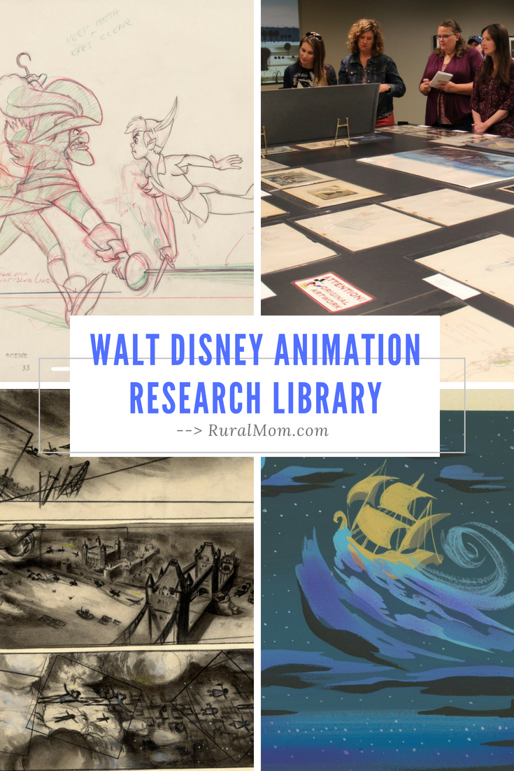 Inside the Walt Disney Animation Research Library