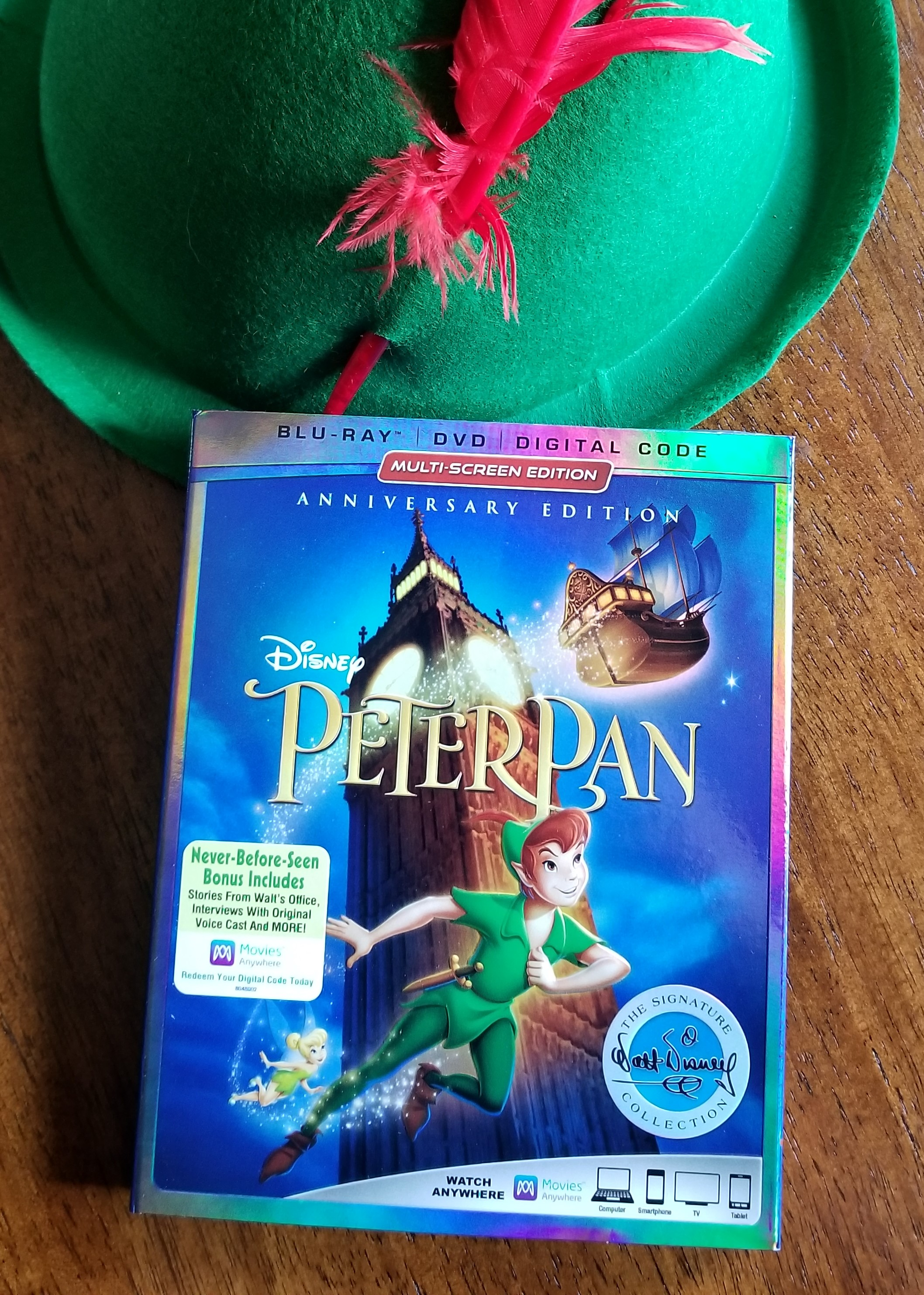 peter pan the signature collection 65th anniversary edition