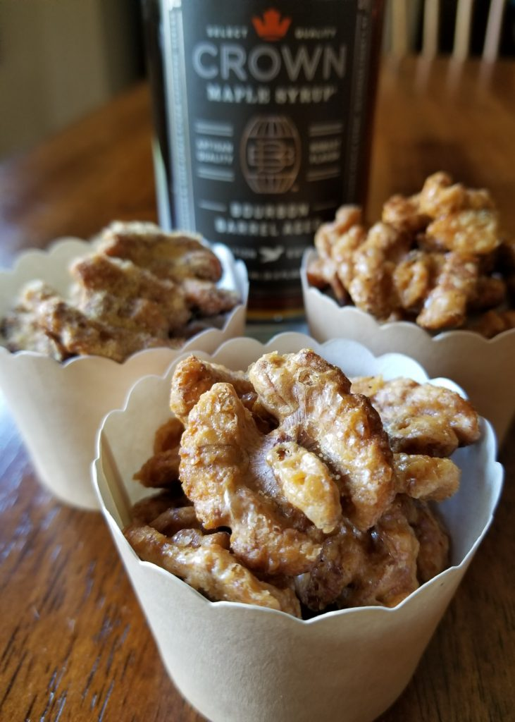 How To Make Maple Roasted Candied Walnuts