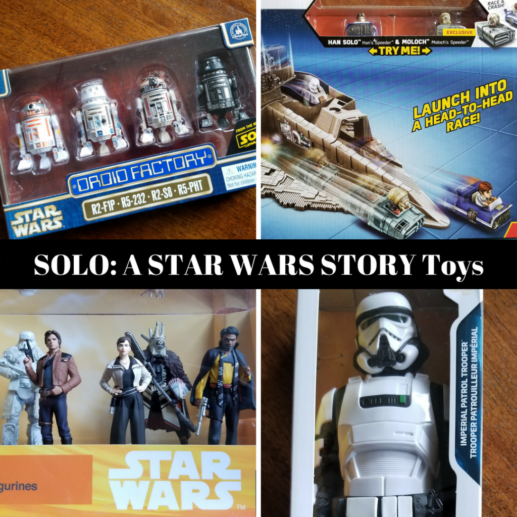 Shopping Guide to SOLO: A STAR WARS STORY Toys