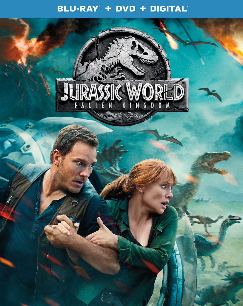 Hey, Blue! Own JURASSIC WORLD: FALLEN KINGDOM on Digital, Blu-ray & DVD soon!