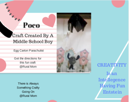 Here is a fun craft to get your middle schooler being creative and having fun.
