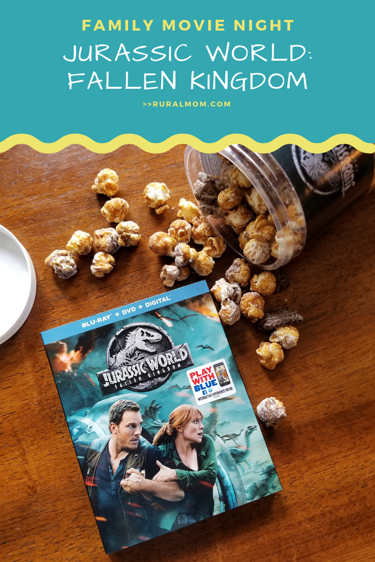 Dino-riffic Jurassic World: Fallen Kingdom Family Movie Night