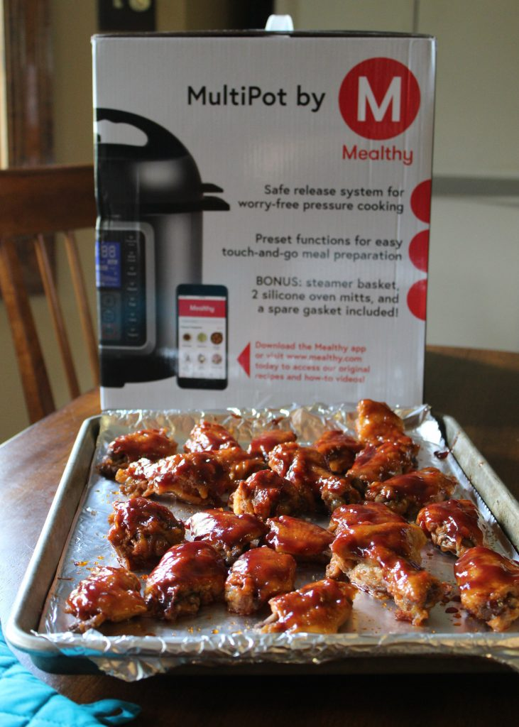 Apple Cider Barbecue Wings with Mealthy MultiPot