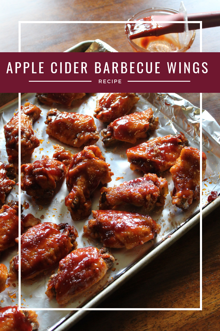 Apple Cider Barbecue Chicken Wings