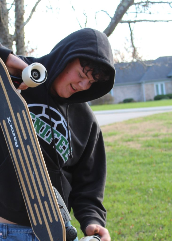 Get Outside and Ride with the RazorX Longboard Electric Skateboard