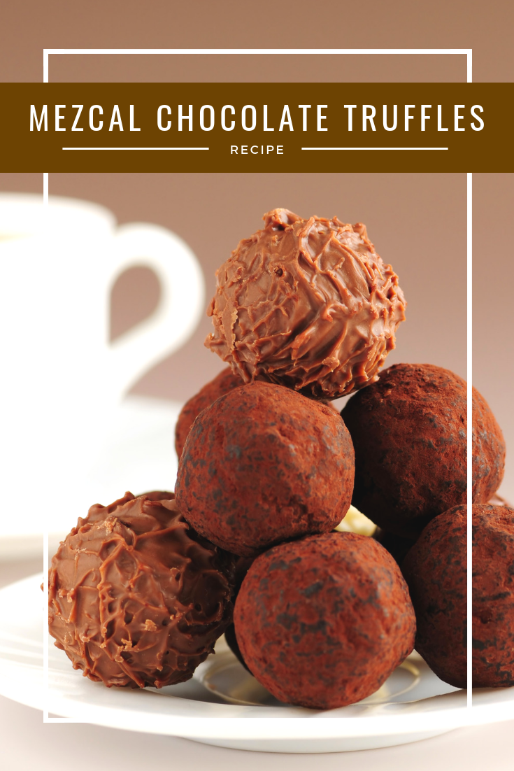 Mezcal Chocolate Truffles