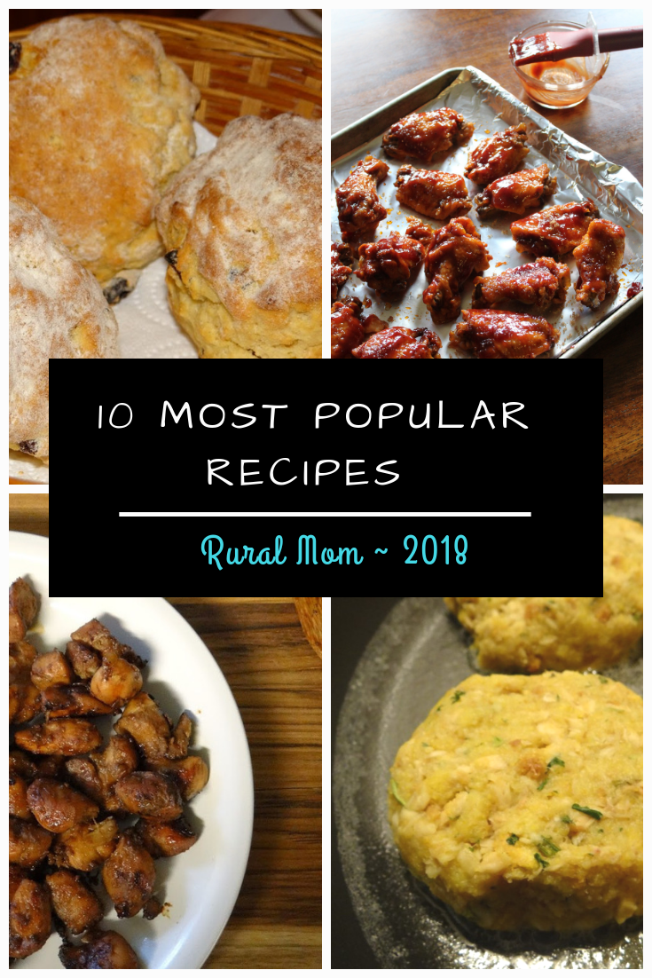 The 10 Most Popular Rural Mom Recipes of 2018