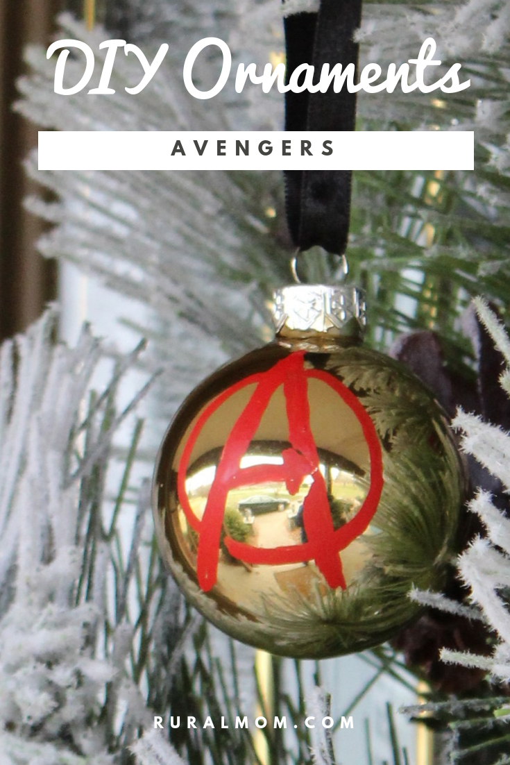 Quick and Cute Avengers, Fantastic Beasts and Harry Potter DIY Ornaments