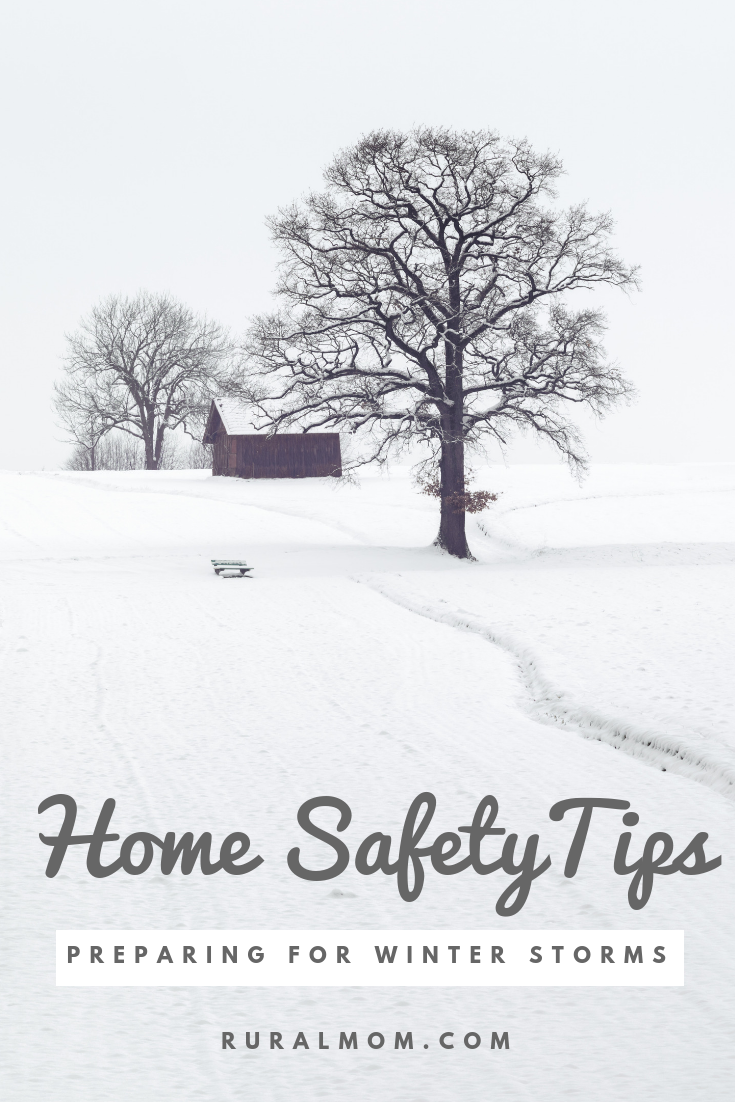 Home Safety Tips for Winter Storms