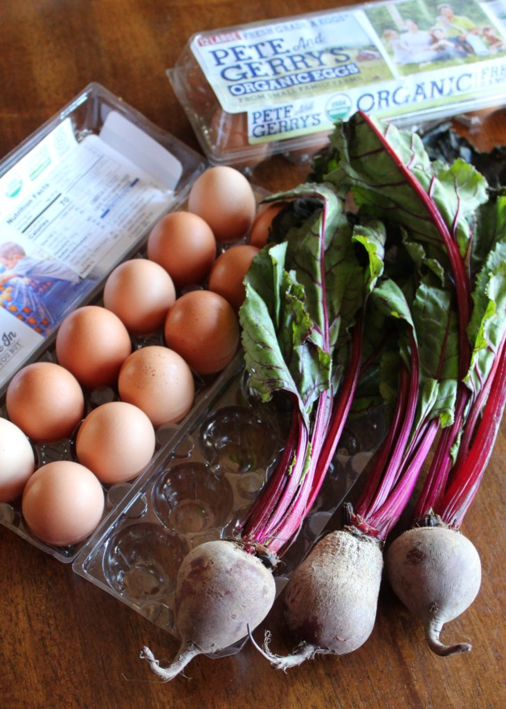 Rural Mom's Farm Fresh Egg Beet Salad