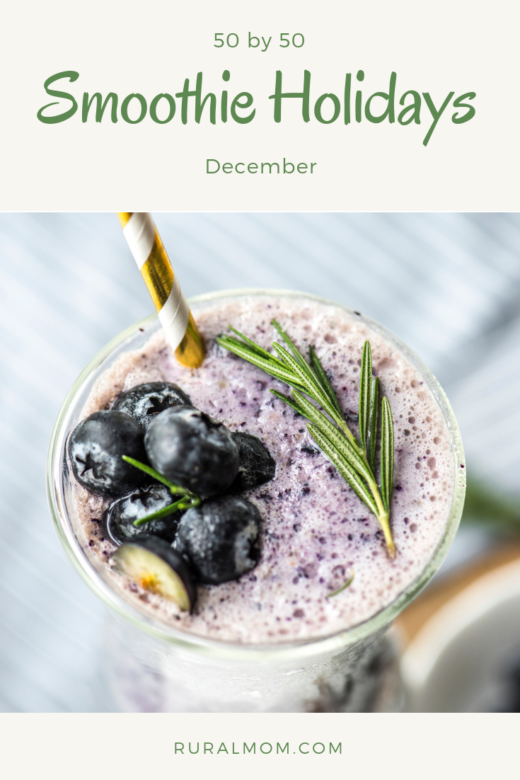 50 by 50: Smoothie Holidays